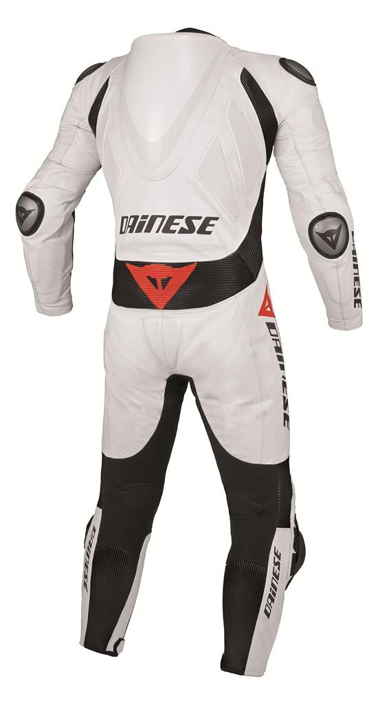 Dainese Team P. Estiva women Leather suit white-black