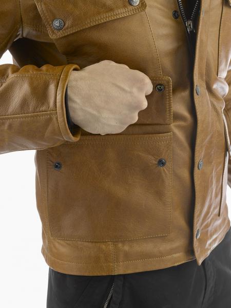 Dainese MAVERICK PELLE leather jacket Black
