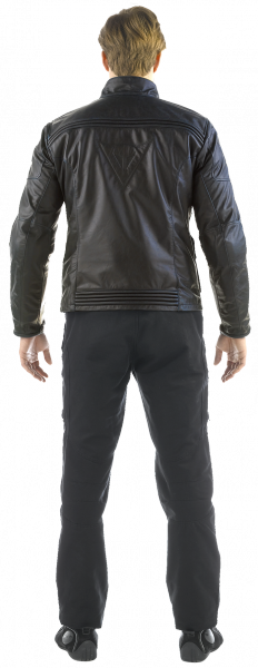 Dainese MAVERICK PELLE leather jacket Dark Brown