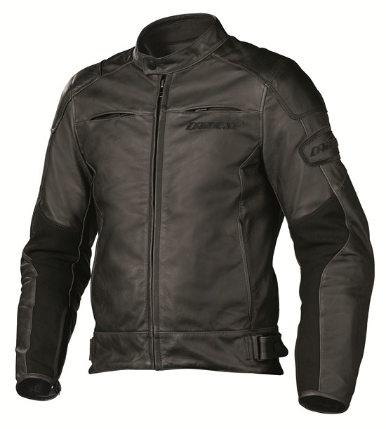 Dainese R-Twin leather jacket black