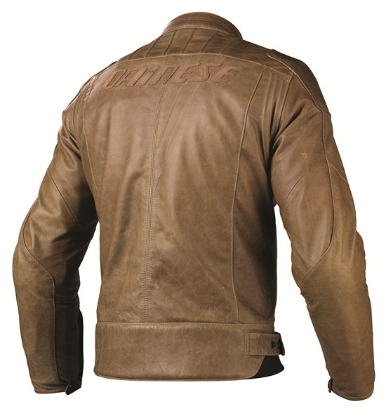Dainese R-Twin leather jacket brown
