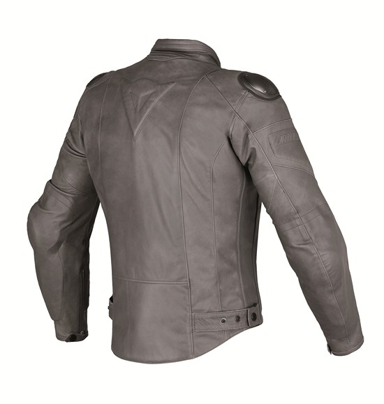 Dainese Speed Naked leather jacket magnesium