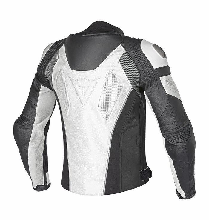 Dainese leather motorcycle jacket C2 Super Speed ??Black Anthrac