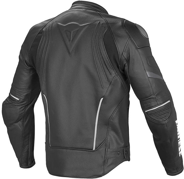 Dainese Racing D1 leather jacket Black