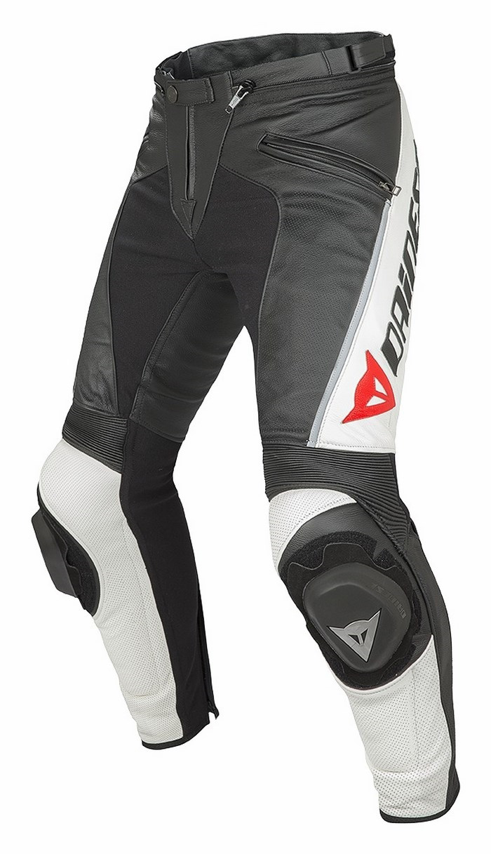 Dainese Delta leather motorcycle pants Summer Pro Evo C2 Black W