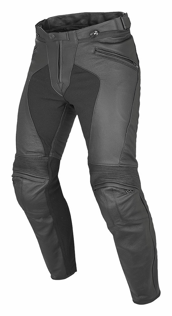 Dainese leather motorcycle pants Summer Pony C2 Black