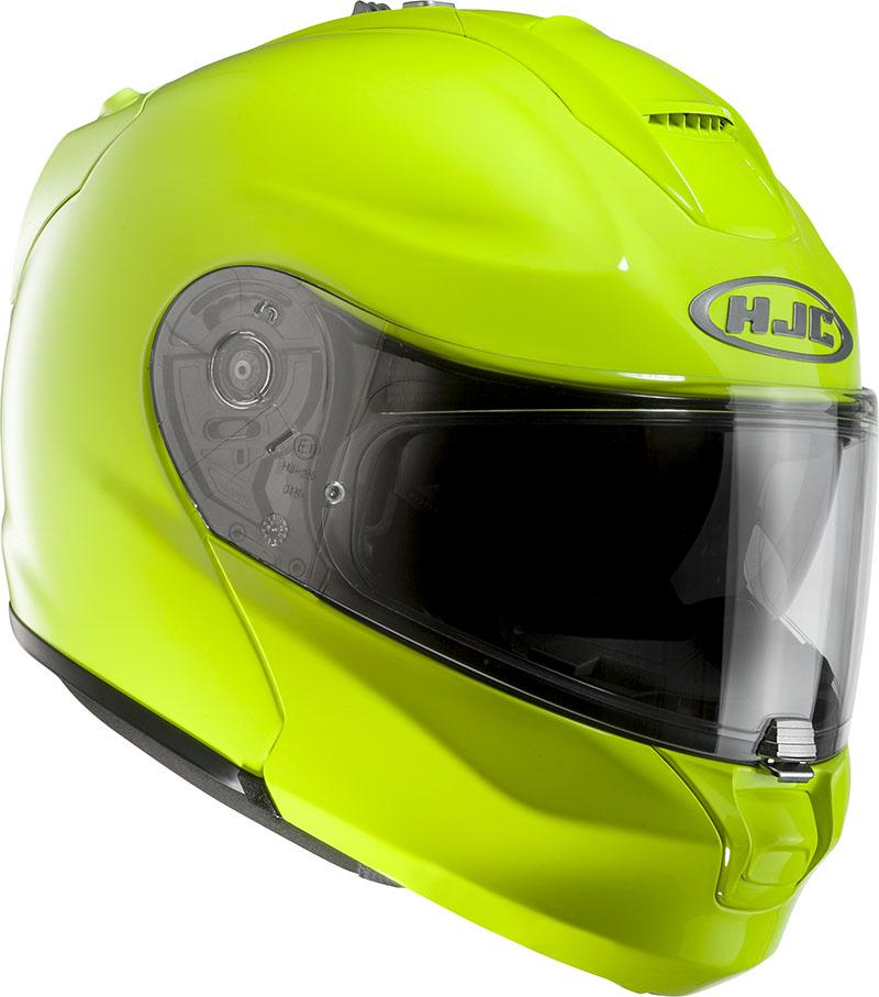 Modular Helmet HJC RPHA MAX EVO fluorescent yellow