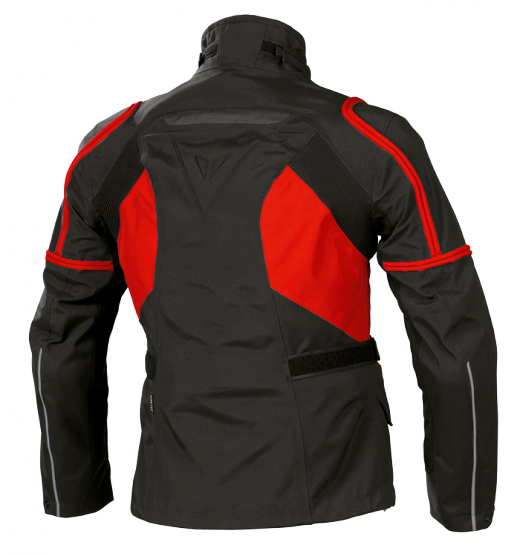 Dainese Bruce Gore-Tex motorcycle jacket black-red