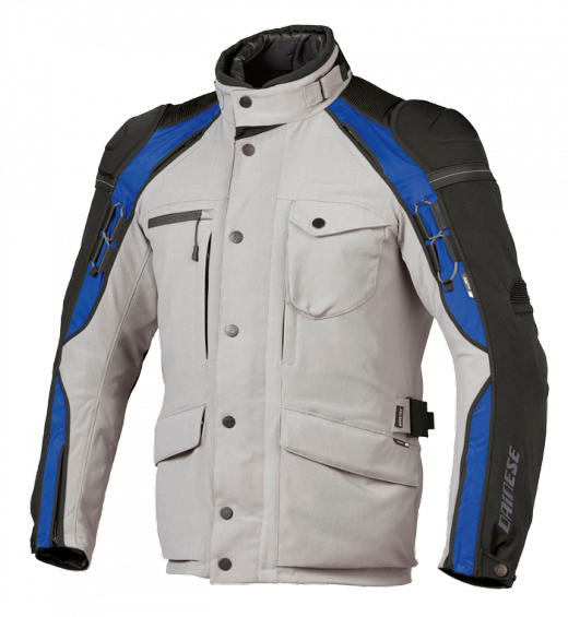 Dainese Gator Evo Gore-Tex 2011 motorcycle jacket Grey-black-blu