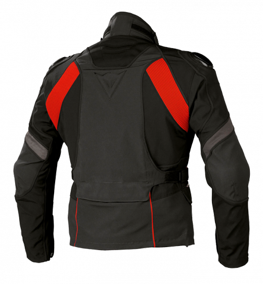 Dainese Talos Gore-Tex motorcycle jacket grey-black-red