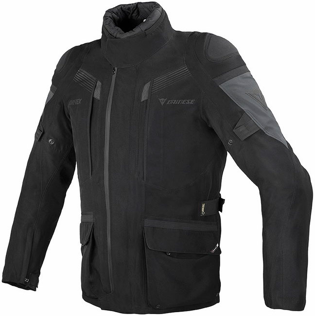Dainese Ridder Gore-tex black black dark gull gray gloves