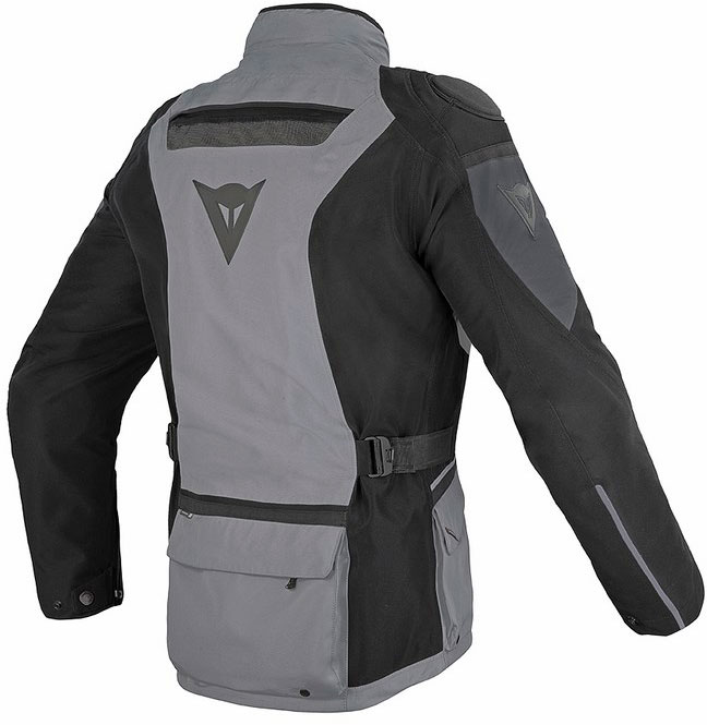 Dainese Ridder Gore-tex castle rock black dark gull gray gloves
