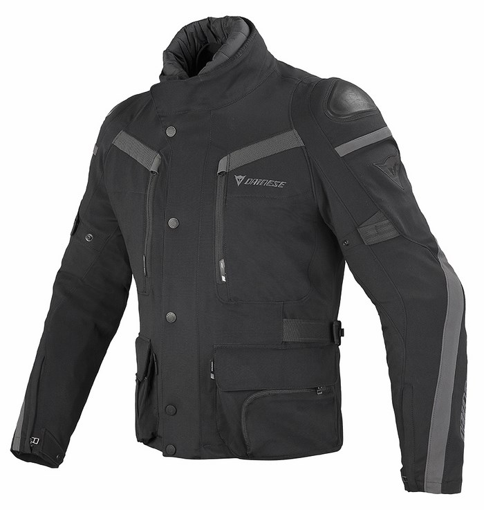 Giacca moto Dainese Carve Master GoreTex Nero Dark gull gray