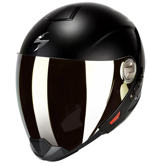 Casco modulare Scorpion Exo 300 Air Nero Opaco