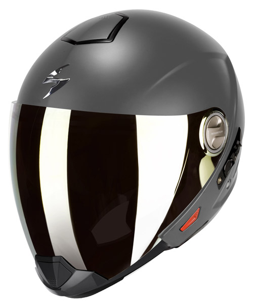 Scorpion Exo 300 Air flip off helmet Matt Anthracite