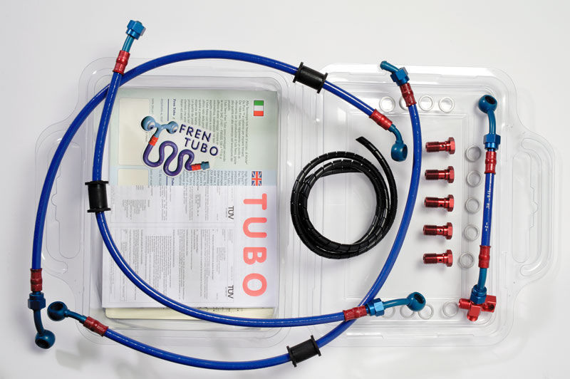 Kit tubazioni Fren Tubo kevlar/ergal Kawasaki ZX-6 05-06