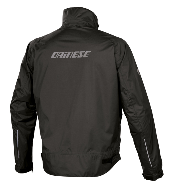 Giacca impermeabile Dainese Dublin Packable nera
