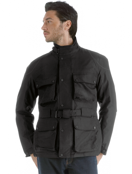Dainese Bologna D-Dry motorcycle jacket black