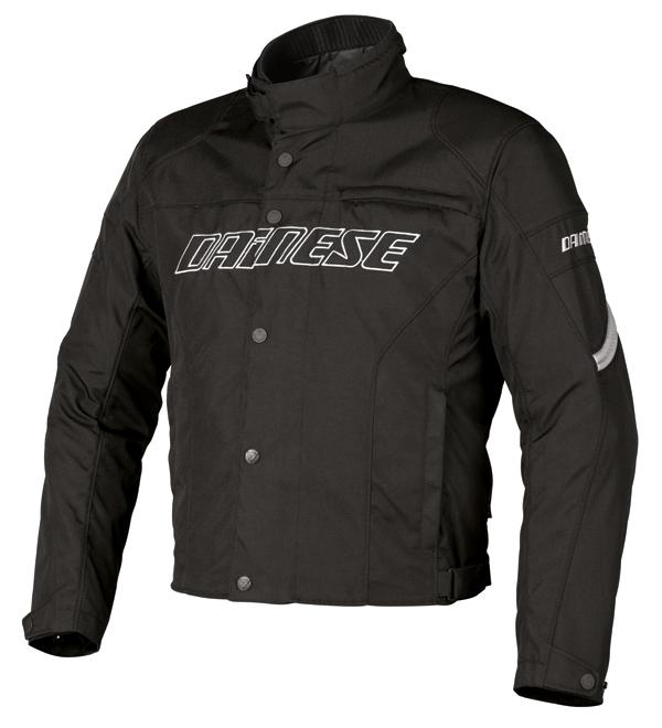 Giacca moto Dainese Racing D-Dry nero-reflex