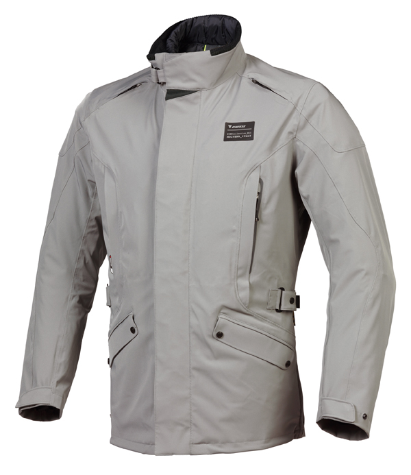 Dainese Asgard D-Dry motorcycle jacket steeple gray