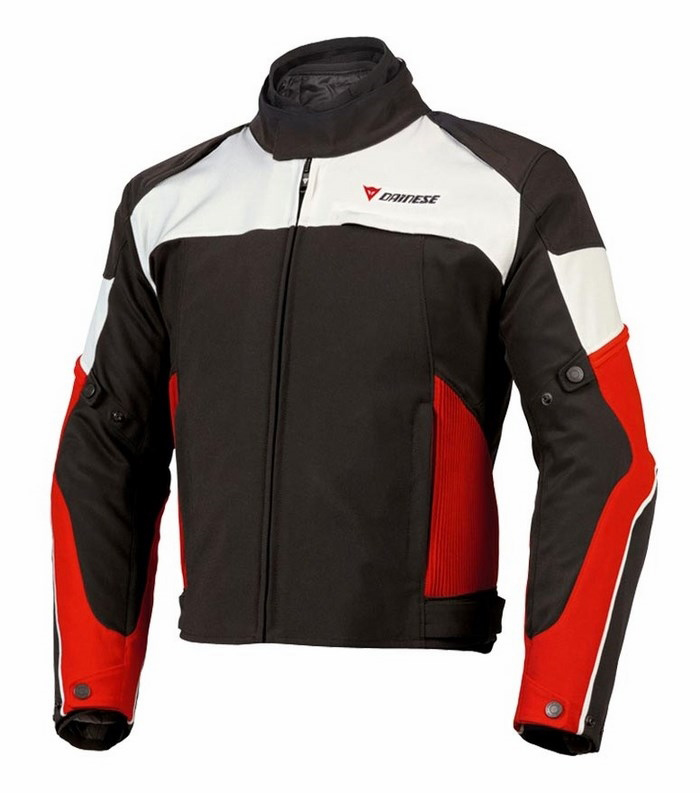 Jacket Dainese D-Dry Atallo 2 Black Red Blue Dawn