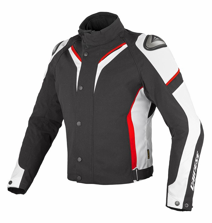 Jacket Dainese Aspide D-Dry Black White Red