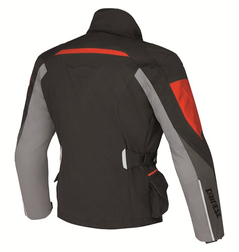 Dainese Temporale Lady D-Dry jacket black-dark grey-high rise