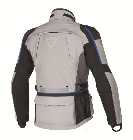 Dainese Teren D-Dry motorcycle jacket high rise-grey-blue
