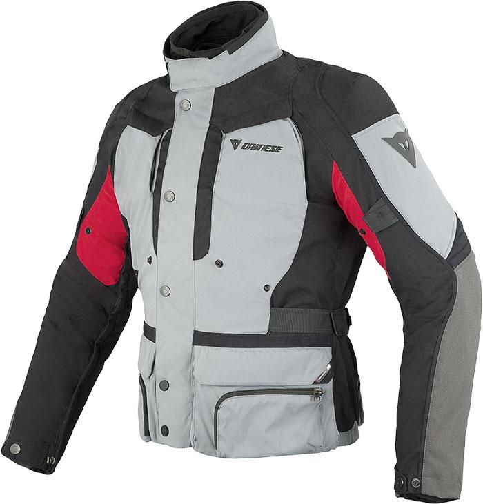 Dainese D-Stormer D-Dry jacket castle rock - black- red