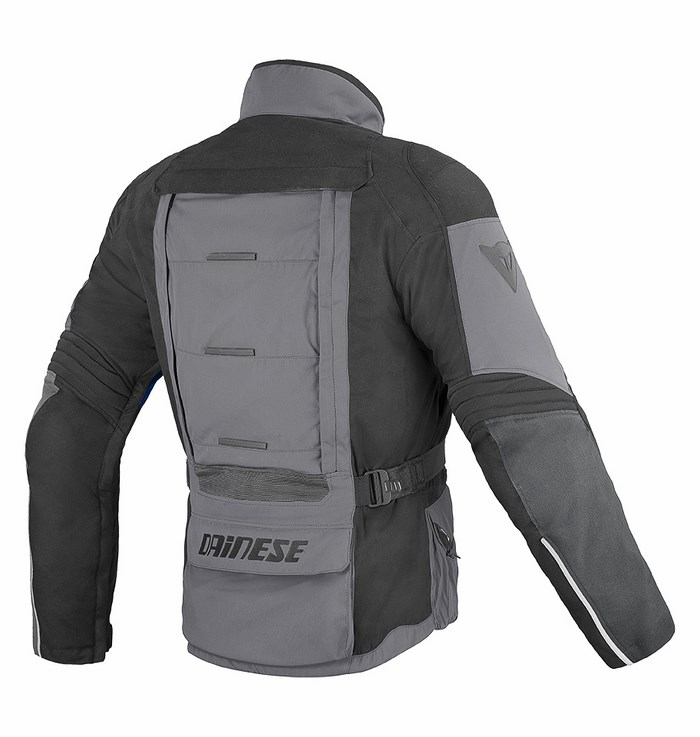 Giacca moto Dainese D-Stormer D-Dry castle rock - nero - blu