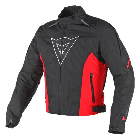 Giacca moto Dainese Laguna Seca D-Dry Nero Rosso