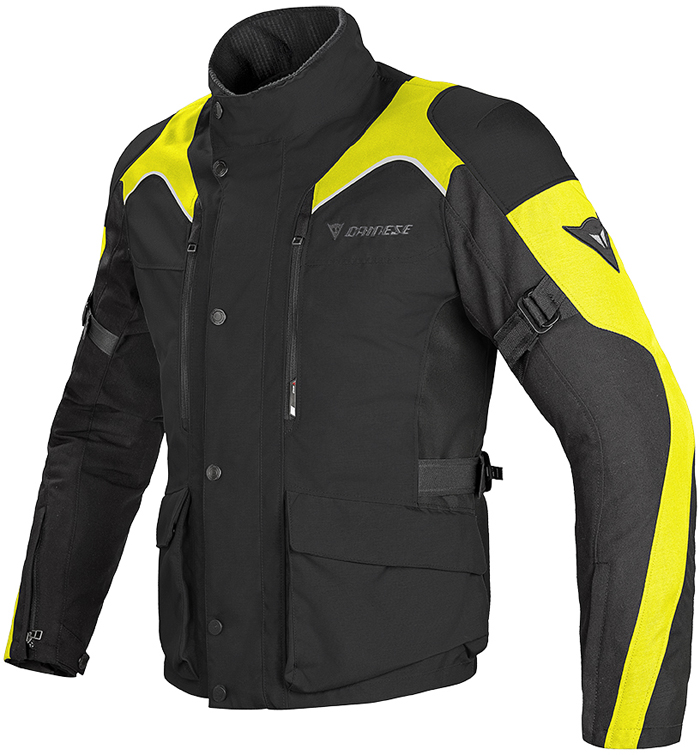 Dainese Tempest D-Dry jacket Black Yellow