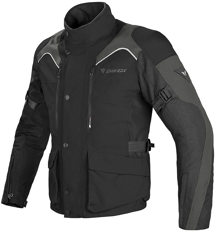 Dainese Tempest D-Dry jacket Black Dark gull