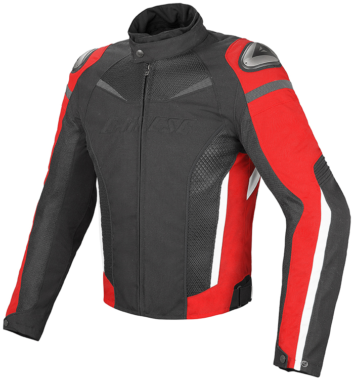 Dainese Super Speed D-Dry jacket ??Black Red White