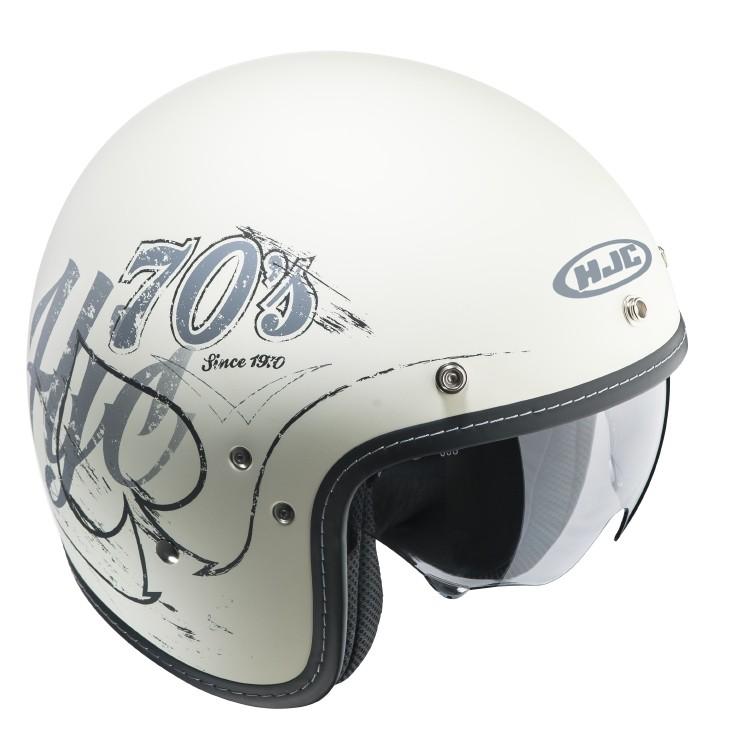 HJC FG 70s jet helmet Rockers MC10F