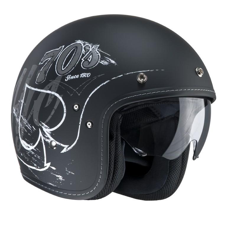HJC FG 70s jet helmet Rockers MC5F