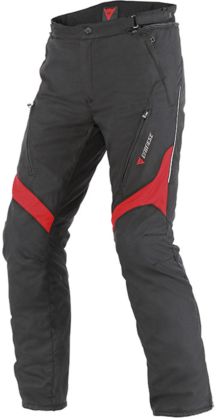 Pantaloni moto Dainese Tempest D-Dry Nero Rosso