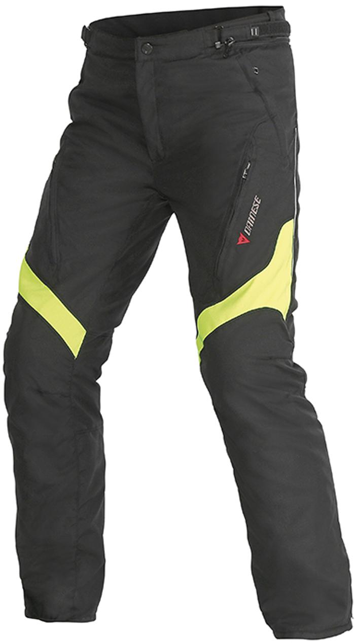 Pantaloni moto Dainese Tempest D-Dry Nero Giallo