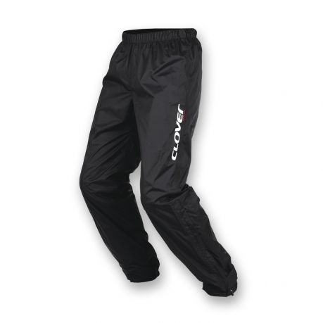 Clover Black Rain Pants Wet