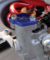 Canister lid Rear brake Honda Black Kite