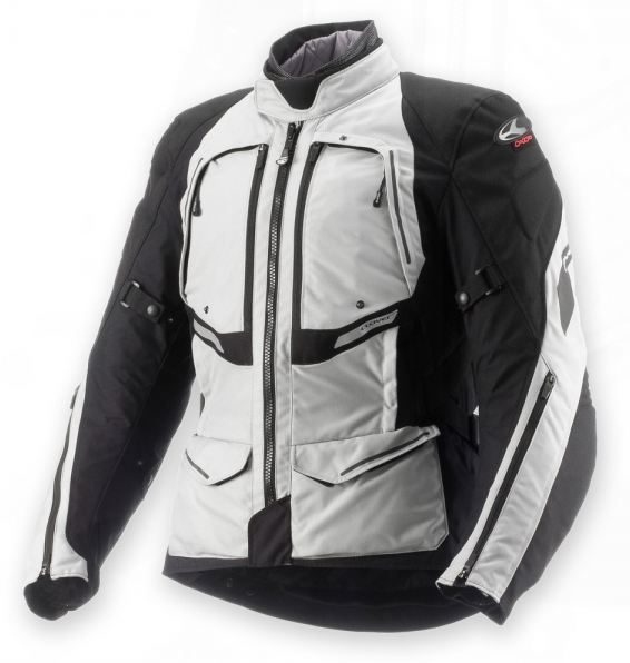 Clover GTS WP Airbag Lady woman 3 layers jacket Grey