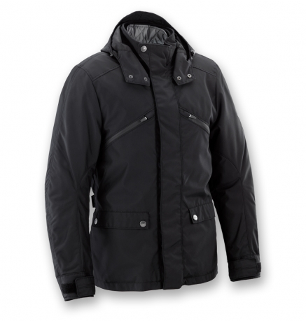 Motorcycle jacket WP Black Clover Newport