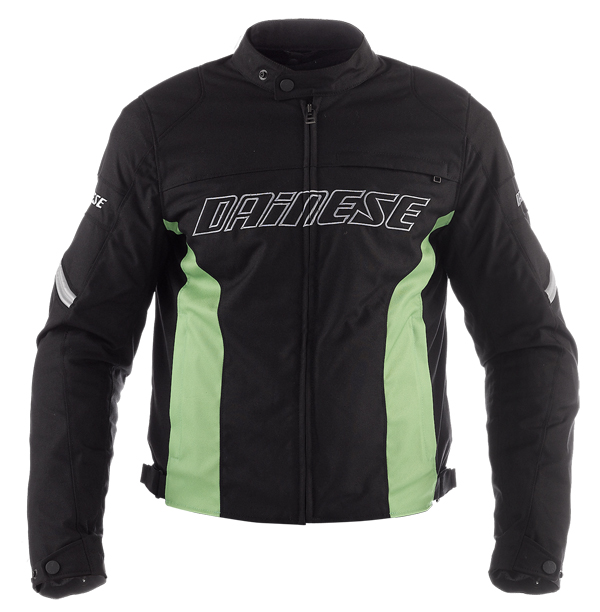 Dainese Racing Tex motorcycle jacket black-green