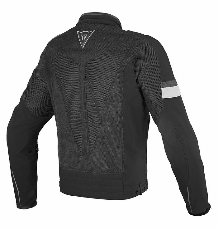 Dainese Air Tex Jacket Black White Frame