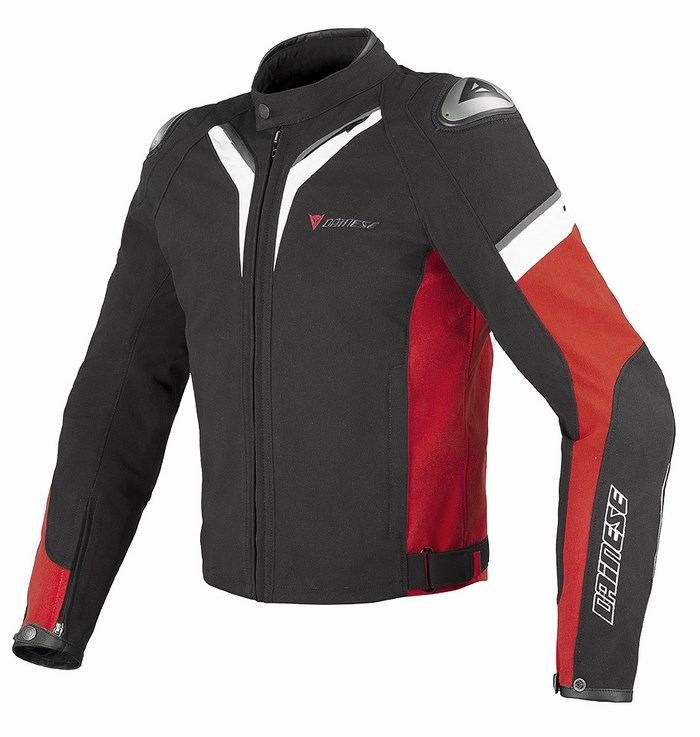 Dainese Aspide Tex Jacket Black Red White