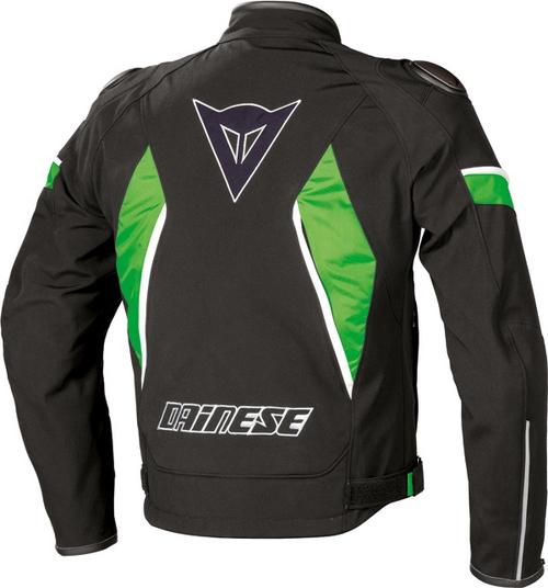 Giacca moto Dainese Aspide Tex nero-nero-verde