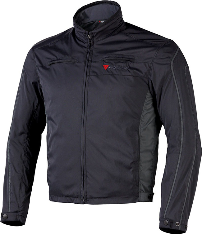 Dainese Tron 2 Tex motorcycle jacket black-anthracite