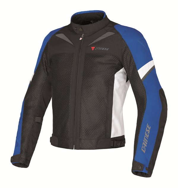 Dainese AIR-3 TEX motorcyle jacket black-blue-white