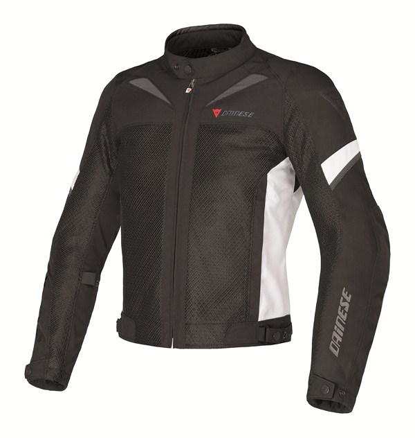 Giacca moto Dainese AIR-3 TEX nero-nero-high rise