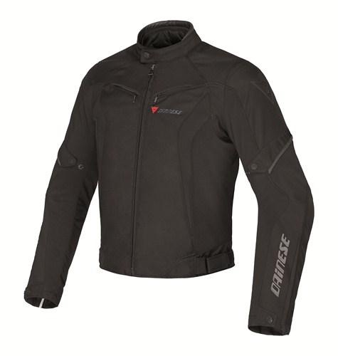 Dainese Crono Tex Lady motorcycle jacket black black